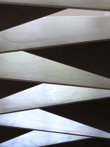 Оригами метални стълби