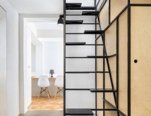 Стилните метални стълби влизат в един български дом