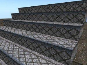 Стъпала за метални конструкции - елегантност