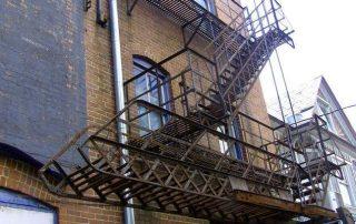 Метални стълби 23