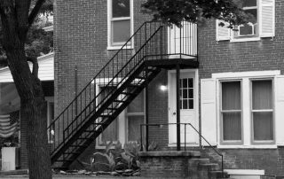 Метални стълби 27