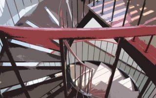 Метални стълби 80